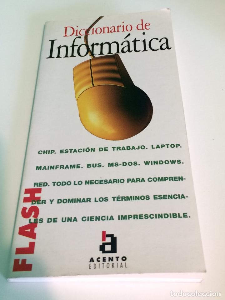 DICCIONARIO DE INFORMÁTICA - ACENTO EDITORIAL - EQUIPO DOS - 1995 (Libros de Segunda Mano - Informática)