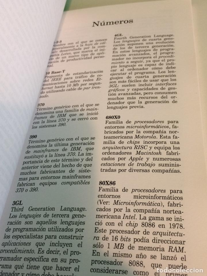 Libros de segunda mano: Diccionario de informática - Acento Editorial - Equipo Dos - 1995 - Foto 2 - 122252086