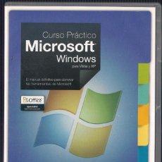 Libros de segunda mano: CURSO PRÁCTICO MICROSOFT WINDOWS PARA VISTA Y XP. EL PAIS 2008 (20 CDS). Lote 122322195