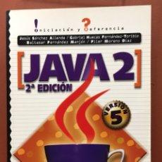 Libros de segunda mano: JAVA 2. ED. MC GRAW HILL. Lote 123572739