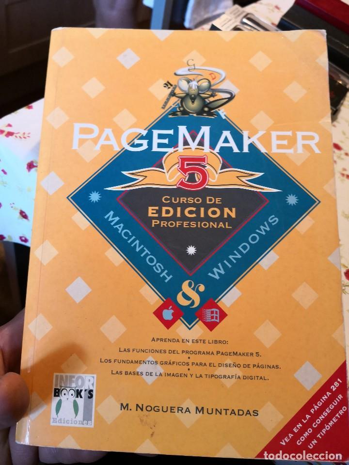 PAGEMAKER 5. CURSO DE EDICION PROFESIONAL. MACINTOSH Y WINDOWS. A-INFOR-119 (Libros de Segunda Mano - Informática)