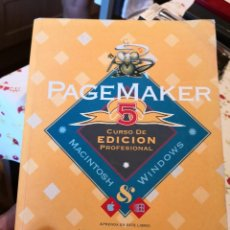 Second hand books - PAGEMAKER 5. CURSO DE EDICION PROFESIONAL. MACINTOSH Y WINDOWS. A-INFOR-119 - 124258487