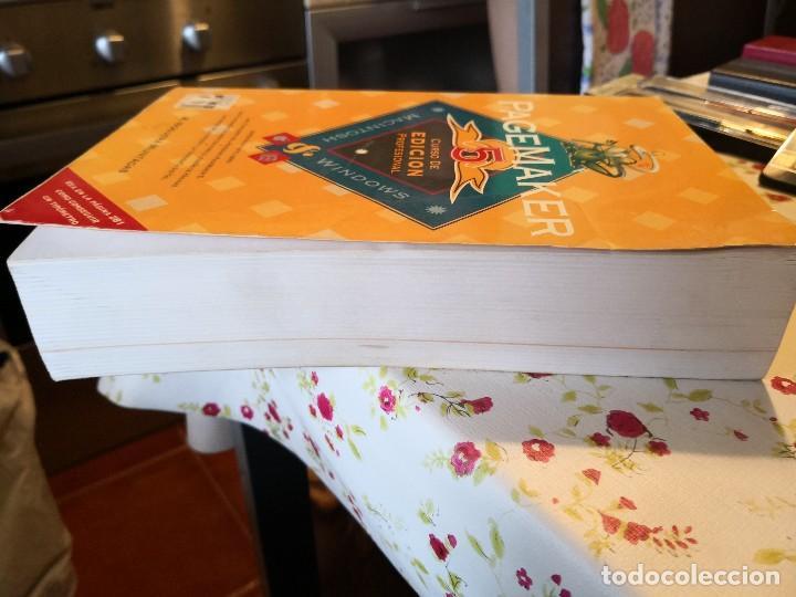 Libros de segunda mano: PAGEMAKER 5. CURSO DE EDICION PROFESIONAL. MACINTOSH Y WINDOWS. A-INFOR-119 - Foto 4 - 124258487