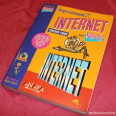 Libros de segunda mano: INTERNET PARA TORPES 2003 FORGES CON CD A ESTRENAR. Lote 125127843
