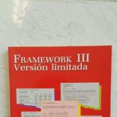 Libros de segunda mano: FRAMEWORK III VERSIÓN LIMITADA. Lote 125275136