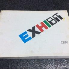 Libros de segunda mano: CATÁLOGO EXHIBIT, EXPOSICIÓN DE TECNOLOGÍA DE LA INFORMACIÓN - IBM, 1986. Lote 125427667