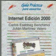 Libros de segunda mano: INTERNET EDICION 2000 + CD. Lote 125468547