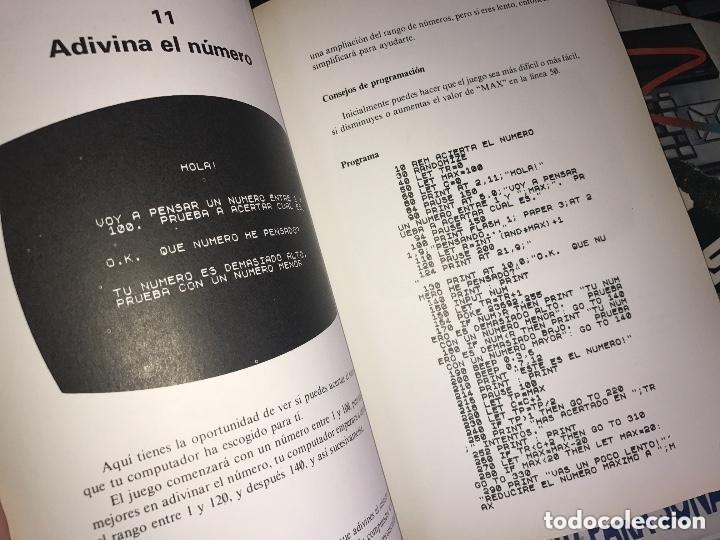 Libros de segunda mano: ANTIGUO LIBRO 40 JUEGOS EDUCATIVOS SPECTRUM - Foto 3 - 126251883