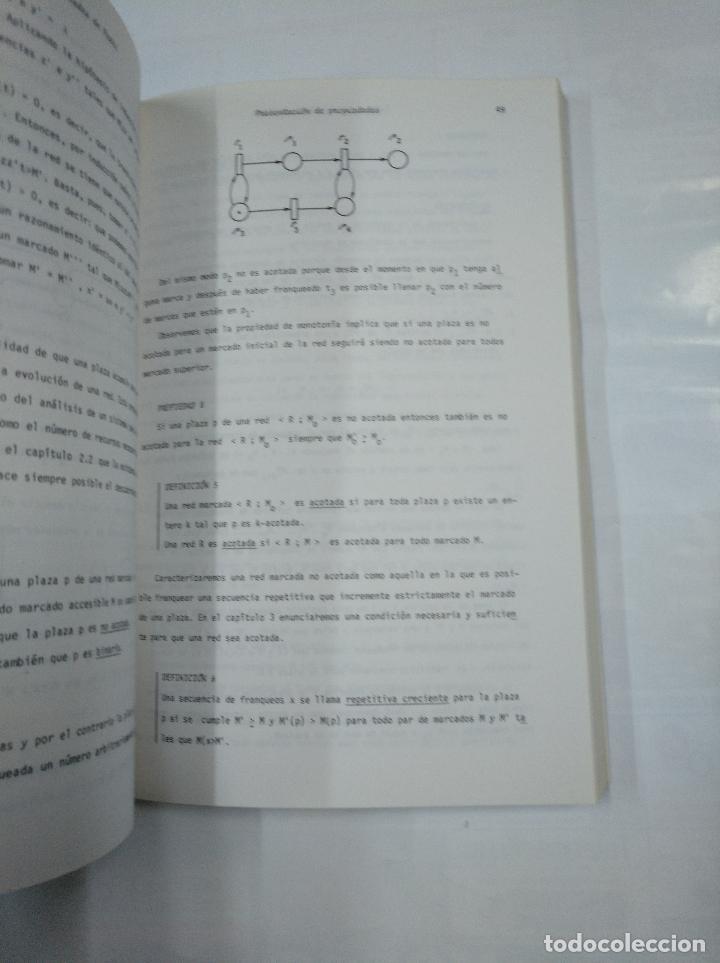Libros de segunda mano: LAS REDES DE PETRI. TEORIA Y PRACTICA. MODELIZACION Y APLICACIONES. TOMO 1 Y 2. G.W. BRAMS. TDK252 - Foto 3 - 126718647