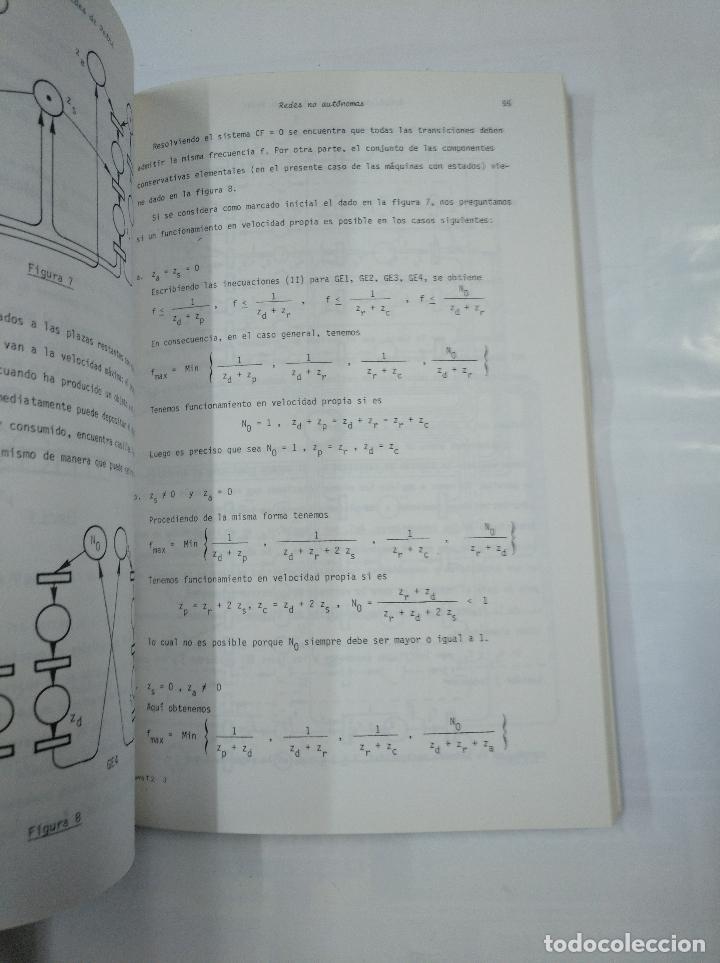 Libros de segunda mano: LAS REDES DE PETRI. TEORIA Y PRACTICA. MODELIZACION Y APLICACIONES. TOMO 1 Y 2. G.W. BRAMS. TDK252 - Foto 5 - 126718647