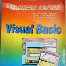 Libros de segunda mano: VISUAL BASIC. ACCESO RAPIDO. DATA BECKER. 1991. Lote 126780059