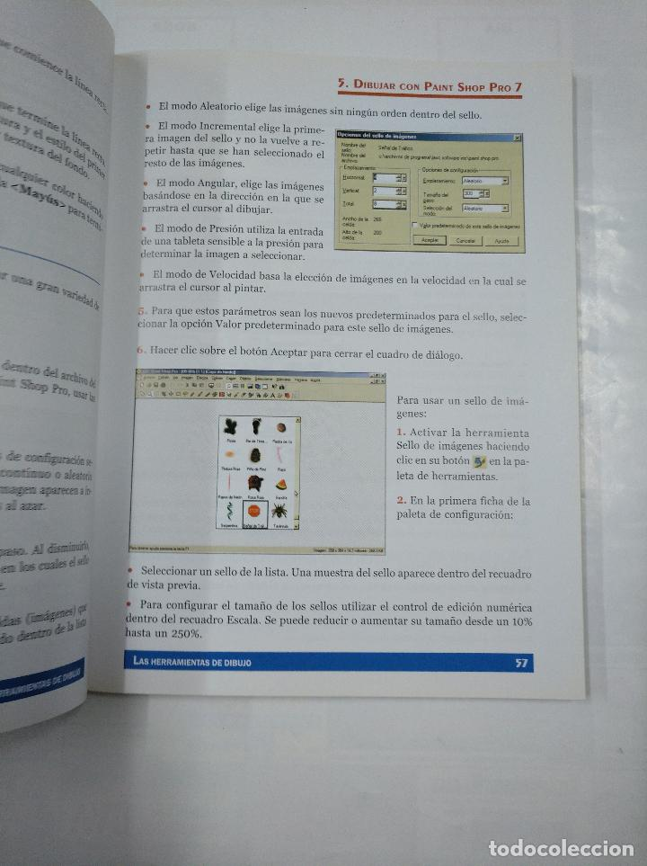 Libros de segunda mano: PAINT SHOP PRO 7. GUIAS VISUALES. JAVIER BOTANA NUÑEZ. ANAYA MULTIMEDIA. TDK215 - Foto 2 - 126860203