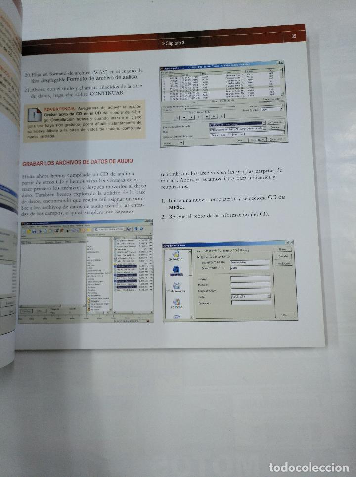 Libros de segunda mano: OCIO DIGITAL. - CREA Y GRABA TUS CD Y DVD. - TOM BUNZEL - EDITORIAL ANAYA 2003. TDK215 - Foto 2 - 126860779