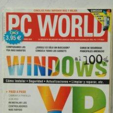Libros de segunda mano: PC WORLD WINDOWS XP AL 100%. Lote 127087910