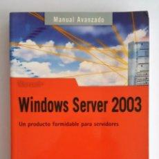 Gebrauchte Bücher - LIBRO WINDOWS SERVER 2003 - EDITORIAL ANAYA - 128166511
