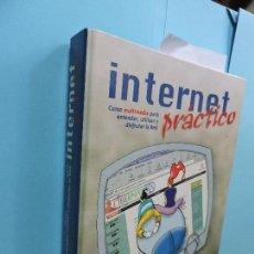 Libros de segunda mano: INTERNET PRÁCTICO. CURSO MULTIMEDIA PARA ENTENDER, UTILIZAR Y DISFRUTAR DE LA RED. . Lote 128216975