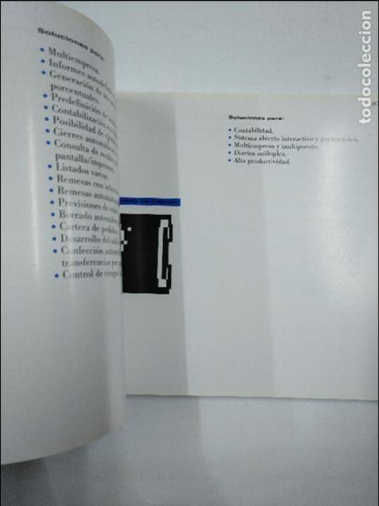 Libros de segunda mano: SOLUCIONES INFORMATICAS IBM AGENTE. CATALOGO PARA LA PEQUEÑA Y MEDIANA EMPRESA. TDK349 - Foto 2 - 128519695