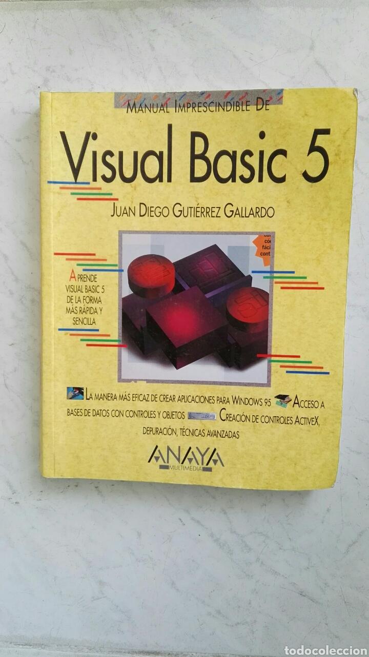 VISUAL BASIC 5 ANAYA (Libros de Segunda Mano - Informática)