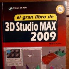 Libros de segunda mano: EL GRAN LIBRO DE 3D STUDIO MAX 2009. Lote 129271902