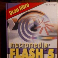Libros de segunda mano: GRAN LIBRO FLASH 5. MARCOMBO - PETRA KRIESINGER. Lote 129272335