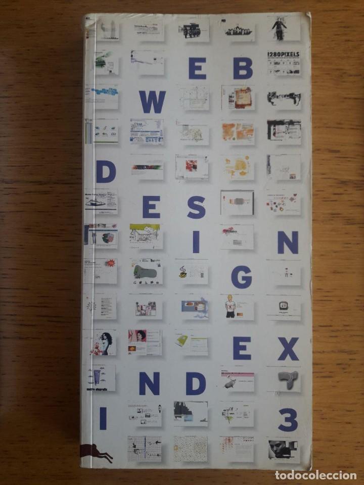 WEB DESIGN INDEX 3 / GÜNTER BEER / EDI. AGILE RABBIT / 2002 / CON CD (Libros de Segunda Mano - Informática)