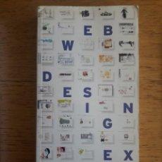 Libros de segunda mano: WEB DESIGN INDEX 3 / GÜNTER BEER / EDI. AGILE RABBIT / 2002 / CON CD. Lote 129700719