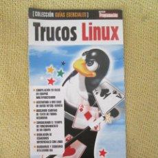 Libros de segunda mano: TRUCOS LINUX. Lote 130205319