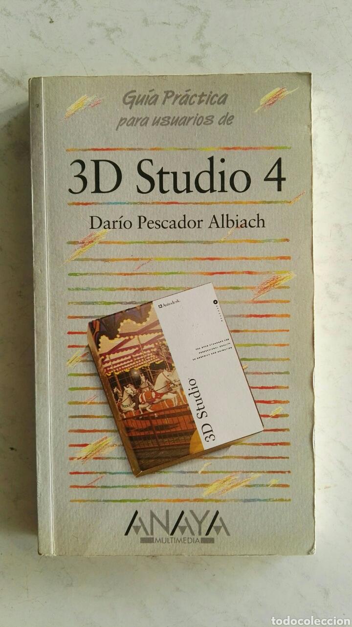 3D STUDIO 4 ANAYA (Libros de Segunda Mano - Informática)