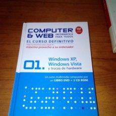 Libros de segunda mano: COMPUTER WEB. INFORMÁTICA PARA TODOS EL CURSO DEFINITIVO. EST11B5. Lote 131417582