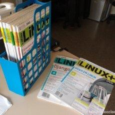 Libros de segunda mano: LOTE DE REVISTAS LINUX+DVD (EDICIÓN EN ESPAÑOL): Nº 19-34 (FALTA Nº 24). Lote 132026574