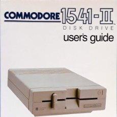 Libros de segunda mano: COMMODORE 1541-II DISK DRIVE - USER'S GUIDE. Lote 132174214