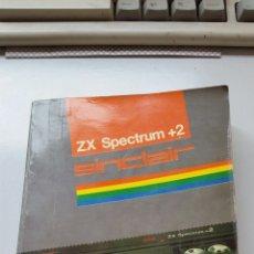 Libros de segunda mano: MANUAL DEL USUARIO ZX SPECTRUM +2 SINCLAIR ESPAÑOL. Lote 132802945