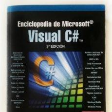 Libros de segunda mano: ENCICLOPEDIA DE MICROSOFT, FCO. JAVIER CEBALLOS. Lote 134047831