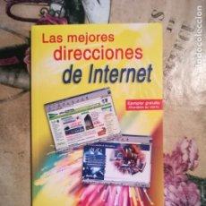 Libros de segunda mano: LAS MEJORES DIRECCIONES DE INTERNET - ANAYA MULTIMEDIA - 2001. Lote 135188702