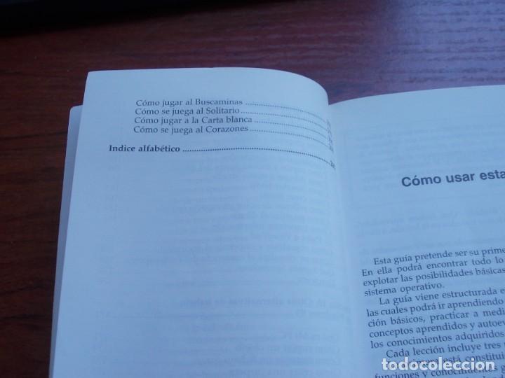 Libros de segunda mano: Windows 95 guía de iniciación, Julián Martínez Valero, Pablo J. García Núñez. Anaya 1.996 - Foto 6 - 135352822