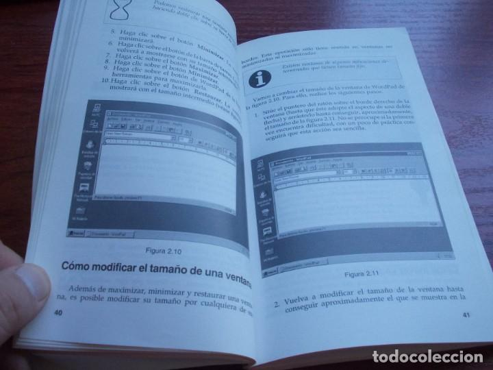 Libros de segunda mano: Windows 95 guía de iniciación, Julián Martínez Valero, Pablo J. García Núñez. Anaya 1.996 - Foto 7 - 135352822