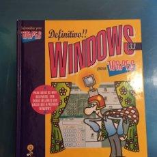 Libros de segunda mano: WINDOWS 3.1. PARA TORPES, ANAYA, 1995 . ILUSTRACIONES DE FORGES. Lote 135427826