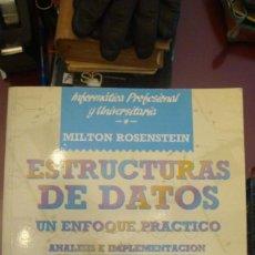 Libros de segunda mano: LOTE LIBROS INFORMATICA BASES DE DATOS - SISTEMAS - CASE. Lote 136017402