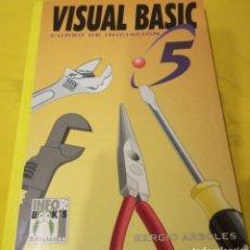 Libros de segunda mano: VISUAL BASIC 5 - CURSO DE INICIACION. Lote 136191540