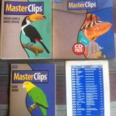 Libros de segunda mano: MASTER CLIPS 303.000 - IMSI - GUIAS DE USUARIO, DISEÑO Y CATÁLOGO DE IMAGENES. 20 CDS (SOLO 19). Lote 136369618