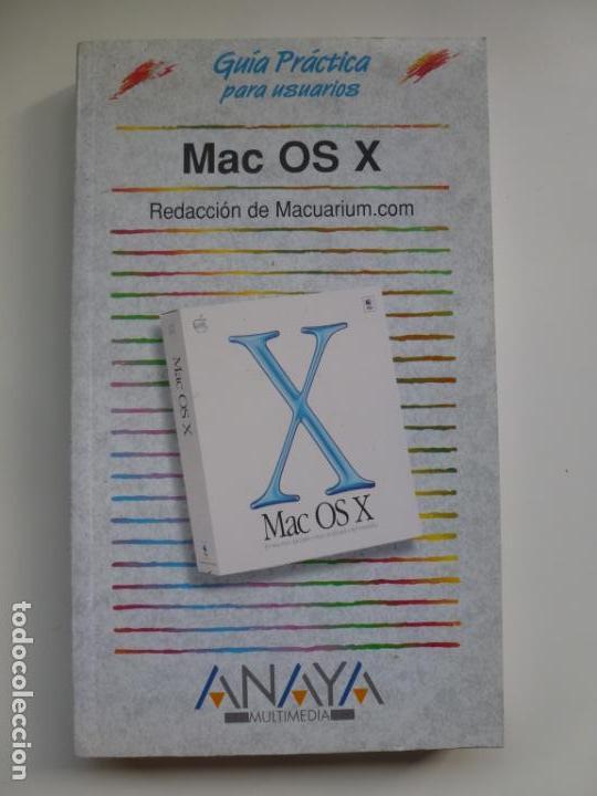 GUÍA PRÁCTICA PARA USUARIOS MAC OS X. MACUARIUM, usado segunda mano