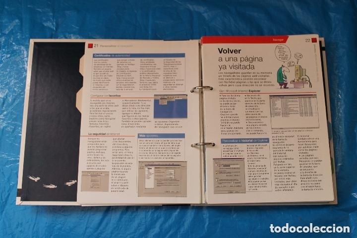 Libros de segunda mano: iñi INTERNET. TODAS LAS CLAVES PARA NAVEGAR. EL PAÍS AGUILAR. BOOK. FASCÍCULOS. Lote épsilon. - Foto 2 - 137775890