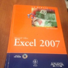 Libros de segunda mano: EXCEL 2007. Lote 138632936
