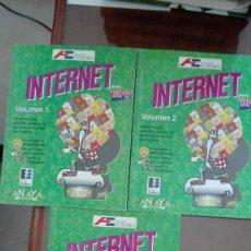 Libros de segunda mano: INTERNET PARA TORPES CON ILUSTRACIONES DE FORGES. Lote 138670082
