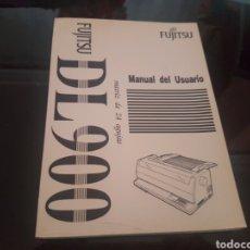 Libros de segunda mano: FUJITSU DL 900 - MANUAL DEL USUARIO. Lote 138673304