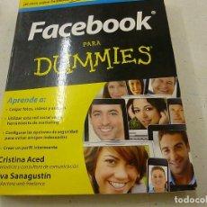 Libros de segunda mano: FACEBOOK PARA DUMMIES PARA DUMMIES-JAVIER GUEMBE-N 3. Lote 180090177
