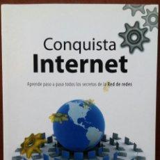 Libros de segunda mano: CONQUISTA INTERNET PASO A PASO (TECNOBOOK / ALMUZARA, 2007) // BUEN ESTADO // ONLINE / BLOG / EBAY. Lote 138964242