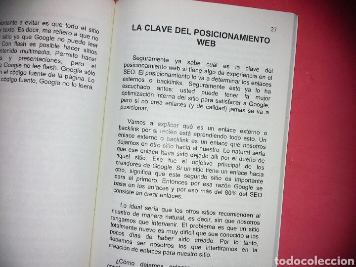 Libros de segunda mano: 'SEO revelado: Cómo alcanzar la página #1 de Google en 90 dias o menos' de Juan Schukin - Foto 3 - 139057625