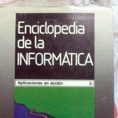 Libros de segunda mano: ENCICLOPEDIA DE LA INFORMATICA - VOLUMEN 5. Lote 139342202