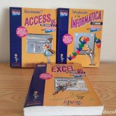 Libros de segunda mano: LIBROS DE INFORMÁTICA PARA TORPES . Lote 139480386